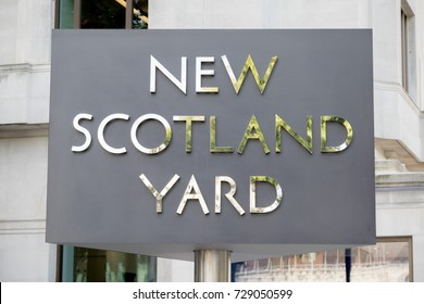 London, 28th September 2017:-New Scotland Yard, headquarters of the Metropolitan Police Force
