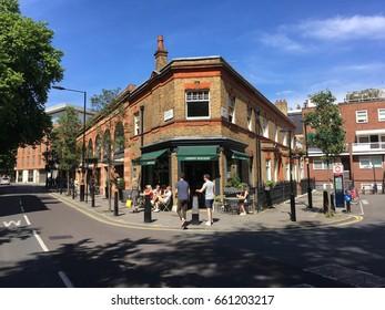 LONDON 3 JUNE,2017 - Marylebone High St