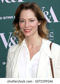 LONDON - APR 18, 2018: Sienna Guillory attends the Fashioned From Nature Event, at the V and A Museum in London