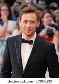 LONDON - APR 19, 2012: Tom Hiddleston attends the Avengers Assemble - UK film premiere at the Vue Westfield on Apr 19, 2012 in London