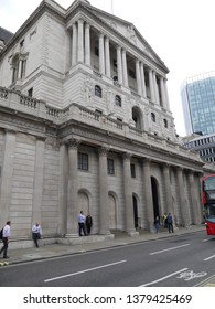 LONDON - APR 24, 2019: Bank of England, The government has launched the recruitment process for a new governor for the Bank of England.