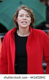 LONDON - APR 25, 2012: Kate Silverton attends the UK premiere of 'African Cats' in aid of Tusk at BFI Southbank on Apr 25, 2012 in London