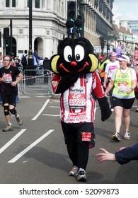 LONDON - APRIL 25: Fun Runners at the 2010 London Marathon April 25, 2010 in London, England