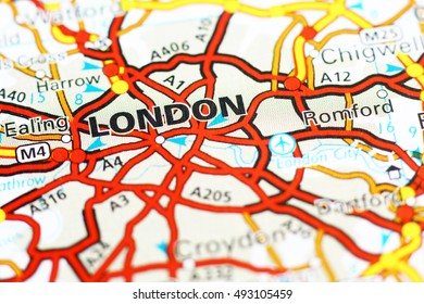 London And Surrounding Areas Map.London Areas Map Stock Photos Images Photography Shutterstock