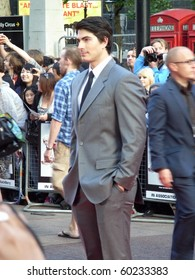 LONDON - AUG 18: Brandon Routh attends the Scott Pilgrim Vs The World Premiere on August 18, 2010 in Leicester Square London, England