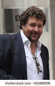 LONDON - AUG 9, 2013: Michael Ball seen leaving BBC radio two studios on Aug 9, 2013 in London