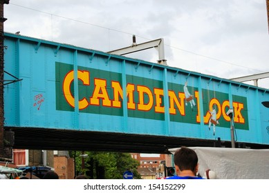 LONDON � AUGUST 16: Camden Lock on August 16, 2008 in London, England.  Camden Lock is a famous market that attracts more than 150,000 people each week.