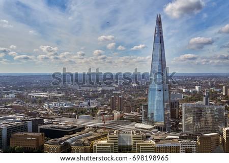 London August 31 City London Aerial Foto De Stock Editar Ahora