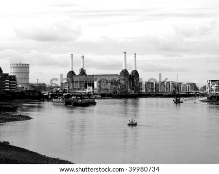 London Battersea powerstation landmark