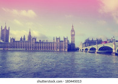 London - Big Ben / Houses of Parliament