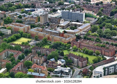 London Borough of Southwark - view with Tabard Gardens.
