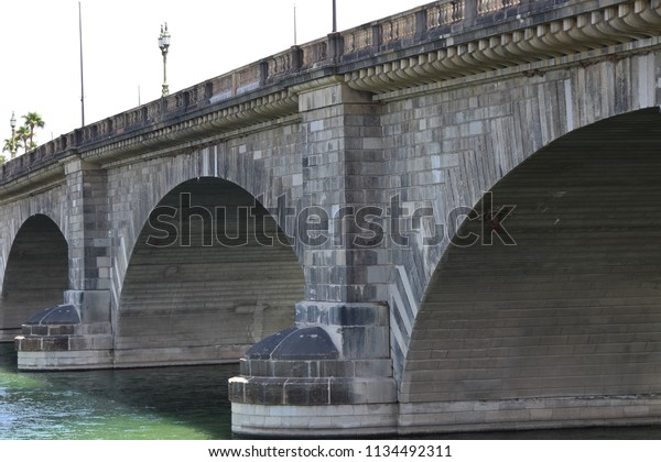 London Bridge Lake Havasu City Arizona Stock Photo Edit Now 1134492311