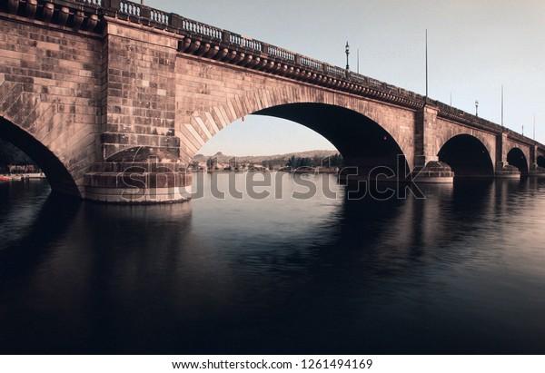 London Bridge Lake Havasu City Arizona Stock Photo Edit Now 1261494169