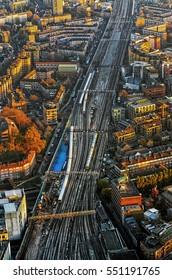 London Bridge Station Trains