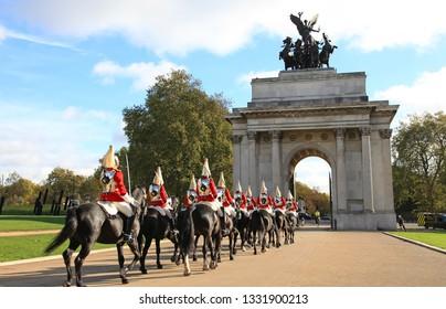 london change of guard cavalry gala