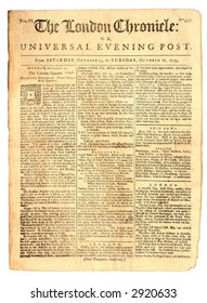 London Chronicle, Oct 16, 1759, Page 1 of 8.