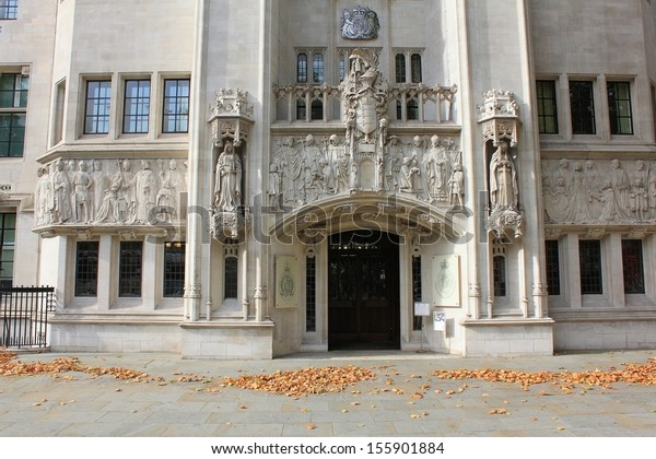 London - CIRCA OCTOBER  2011: Middlesex Guildhall. Building of Judicial Committee of the Privy Council. The Judicial Committee of the Privy Council is one of the highest courts in the United Kingdom