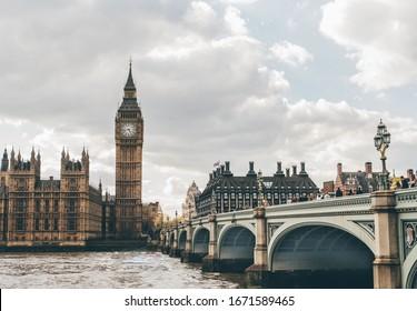 London City England Skyline Big Ben