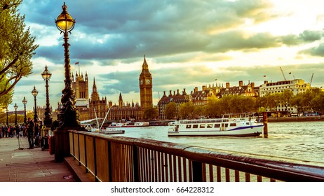 London city Landmark of Saint Paul, Big Ben, Tower gateway or tower bridge and telephone booth