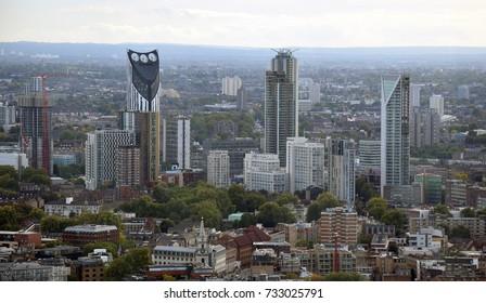 London Cityscape Skyscrapers