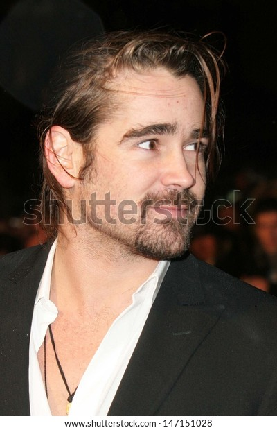 London Colin Farrell Stars Alexander New Celebrities Stock Image 147151028