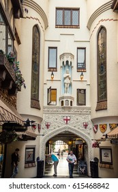 LONDON COURT: 03/ 12/ 2016: A walk to the historical London Street of Perth, Australia