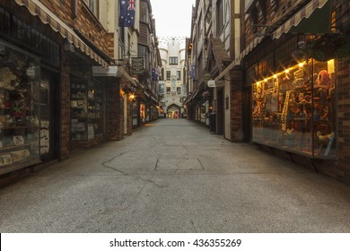 London Court is a three- and four-level open-roofed shopping arcade located in the central business district in Perth, Western Australia