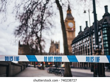 London, crime scene, Westminster