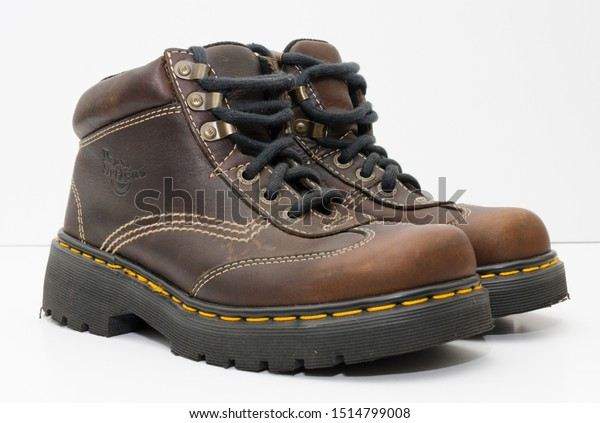 London England 05052019 Dr Martens 1460 | Royalty Free Stock