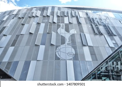 London, England - 05.12.2019: Tottenham Hotspur Stadium is a stadium that serves as the home for Tottenham Hotspur in north London, replacing the club's previous stadium, White Hart Lane