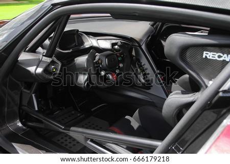 London England 090617 Interior Track Hypercar Stock Photo Edit Now