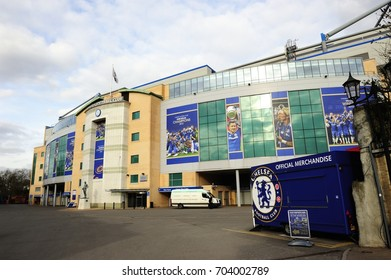 LONDON, ENGLAND- 6 MAY 2013: Chelsea Football Club is a professional football club based in Fulham, London, England that competes in the Premier League, of which they are reigning champions.