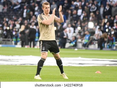LONDON, ENGLAND - APRIL 30, 2019: Matthijs de Ligt of Ajax pictured prior to he first leg of the 2018/19 UEFA Champions League Semi-finals game between Tottenham Hotspur and AFC Ajax.