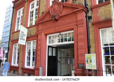 London, England, August 13th 2019: The Place Dance Theatre in Bloomsbury, London