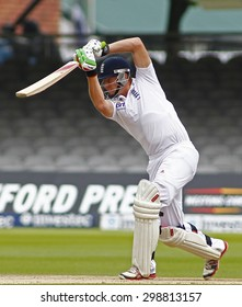 LONDON, ENGLAND. AUGUST 20 2012 England's Jonny Bairstow during the third Investec cricket  test match between England and South Africa, at Lords Cricket Ground