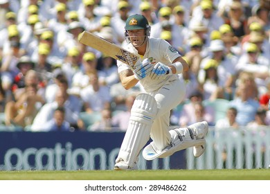 LONDON, ENGLAND - August 21 2013: Michael Clarke batting during day one of the 5th Investec Ashes cricket match between England and Australia