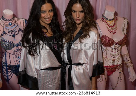 1a21968a33 LONDON ENGLAND DECEMBER 02 Adriana Lima L Stock Photo (Edit Now ...