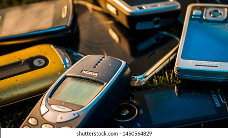 Cell Phone Selection Images Stock Photos Vectors