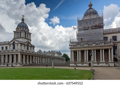 LONDON, ENGLAND - JUNE 17 2016: University of Greenwich, London, England, United Kingdom