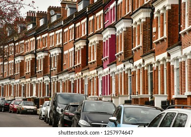 London, England - march 11 2018 : the picturesque Primrose gardens in Camden district