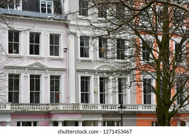 London, England - march 11 2018 : the picturesque Camden district