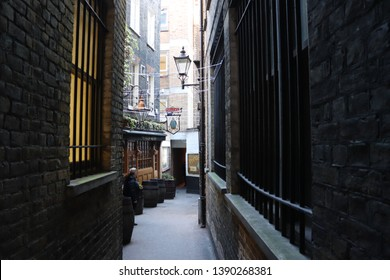 London, England, May 4th 2019: Ye Olde Mitre pub in London