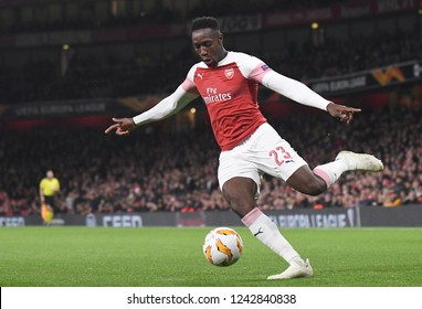 LONDON, ENGLAND - NOVEMBER 8, 2018: Danny Welbeck of Arsenal pictured during the 2018/19 UEFA Europa League Group E game between Arsenal FC (England) and Sporting CP (Portugal) at Emirates Stadium.