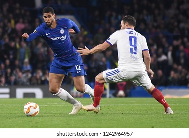 LONDON, ENGLAND - OCTOBER 4, 2018: Ruben Loftus-Cheek pictured during the 2018/19 UEFA Europa League Group L game between Chelsea FC and MOL Vidi FC at Stamford Bridge.