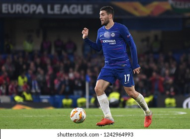 LONDON, ENGLAND - OCTOBER 4, 2018: Mateo Kovacic pictured during the 2018/19 UEFA Europa League Group L game between Chelsea FC and MOL Vidi FC at Stamford Bridge.