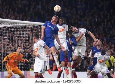 LONDON, ENGLAND - OCTOBER 4, 2018: Ross Barkley pictured during the 2018/19 UEFA Europa League Group L game between Chelsea FC and MOL Vidi FC at Stamford Bridge.