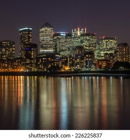 LONDON, ENGLAND - SEPT 22: Canary Wharf on the September 22nd, 2014 in London,England.Canary Wharf is the HQ of major banks including Barclays, Citigroup HSBC Morgan Stanley and JP Morgan
