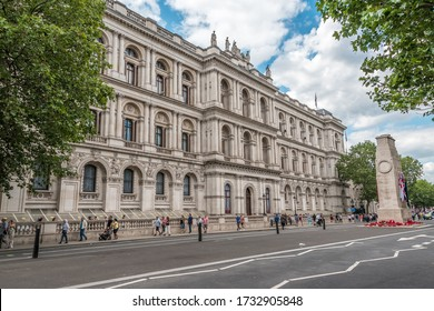 London, England, UK - 5.15.2020: Foreign & Commonwealth Office