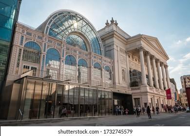 London, England, UK - 5.15.2020: Royal Opera House
