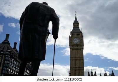 London, England, UK, June 2015. Houses of Parliament, Big Ben.